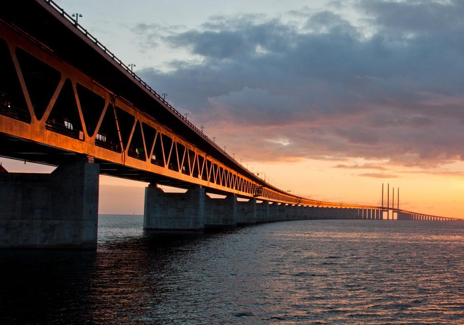Just iron - Øresund Bridge