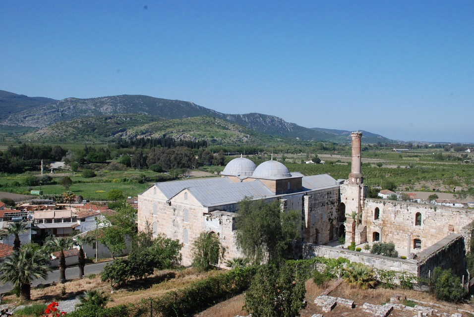 View from St John's - İsa Bey Mosque