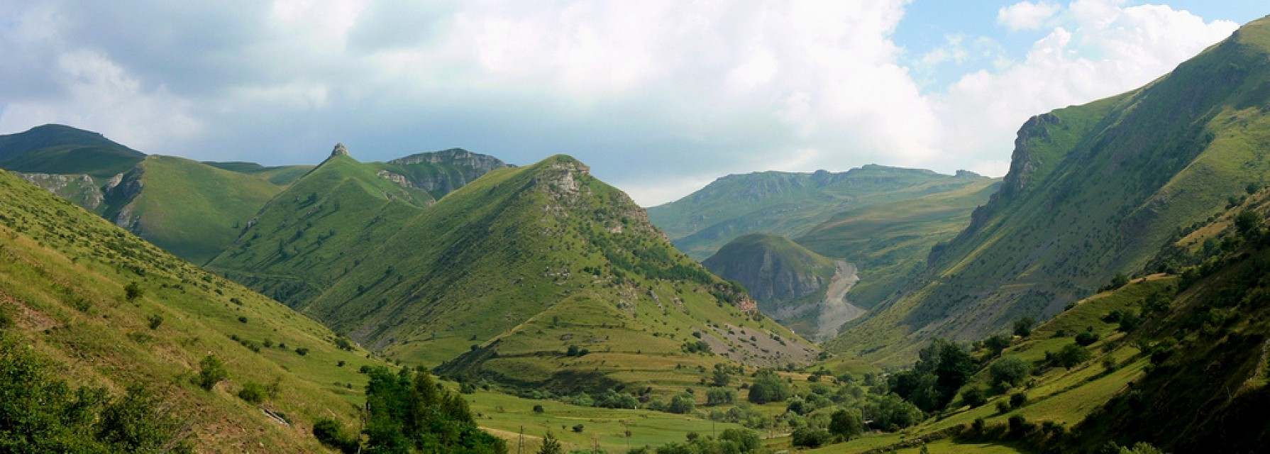 Panorama view of Šar mountains landscape (Шар-планина, Malet e Sharrit) - Šar Mountains