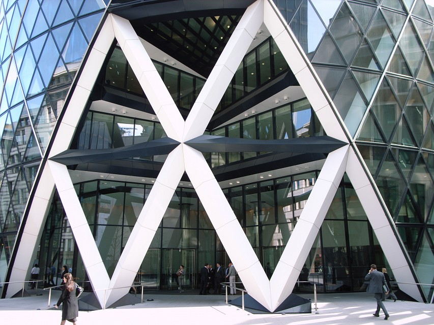 Lunchtime in the City - 30 St Mary Axe