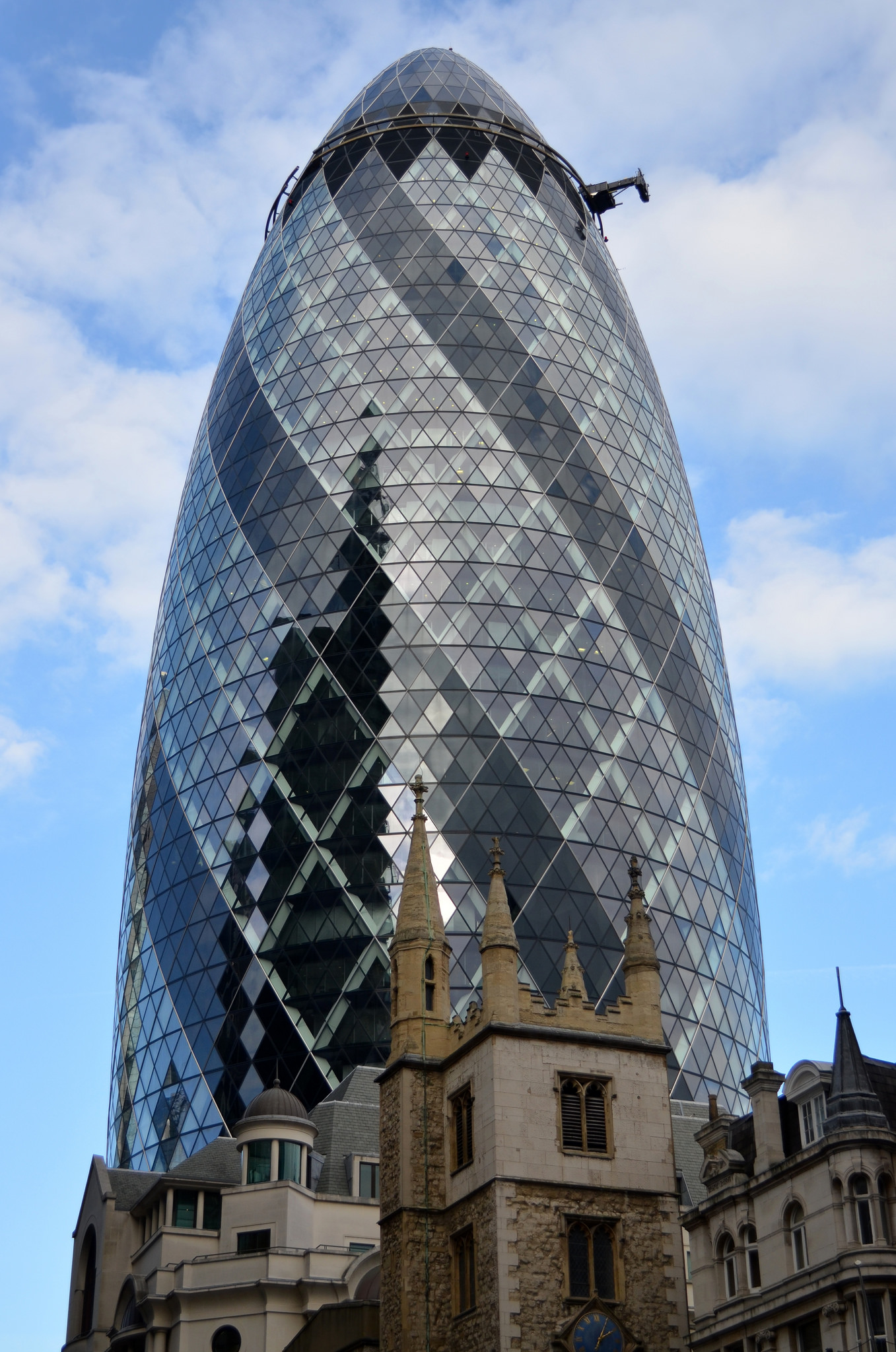 30 St Mary Axe Skyscraper In London Thousand Wonders