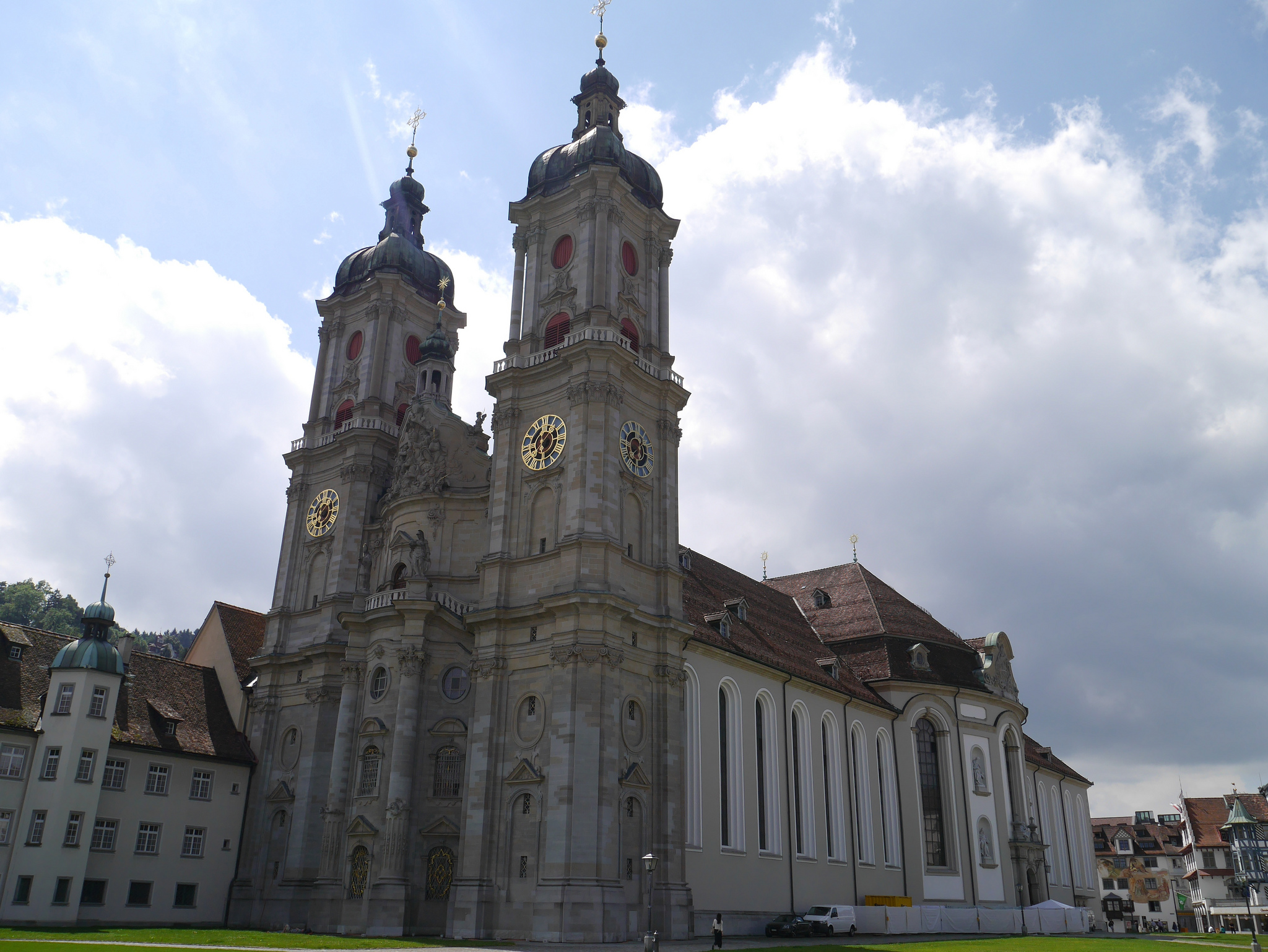abbey of saint gall - church in germany