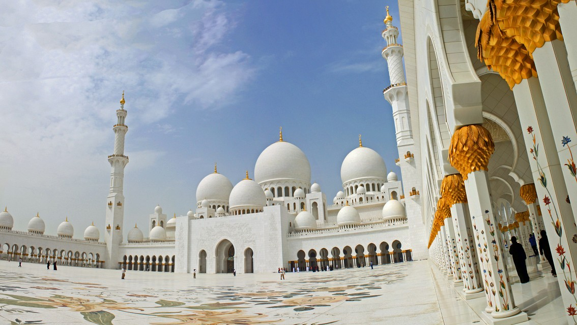 Grand Mosque of Abu Dhabi - Abu Dhabi