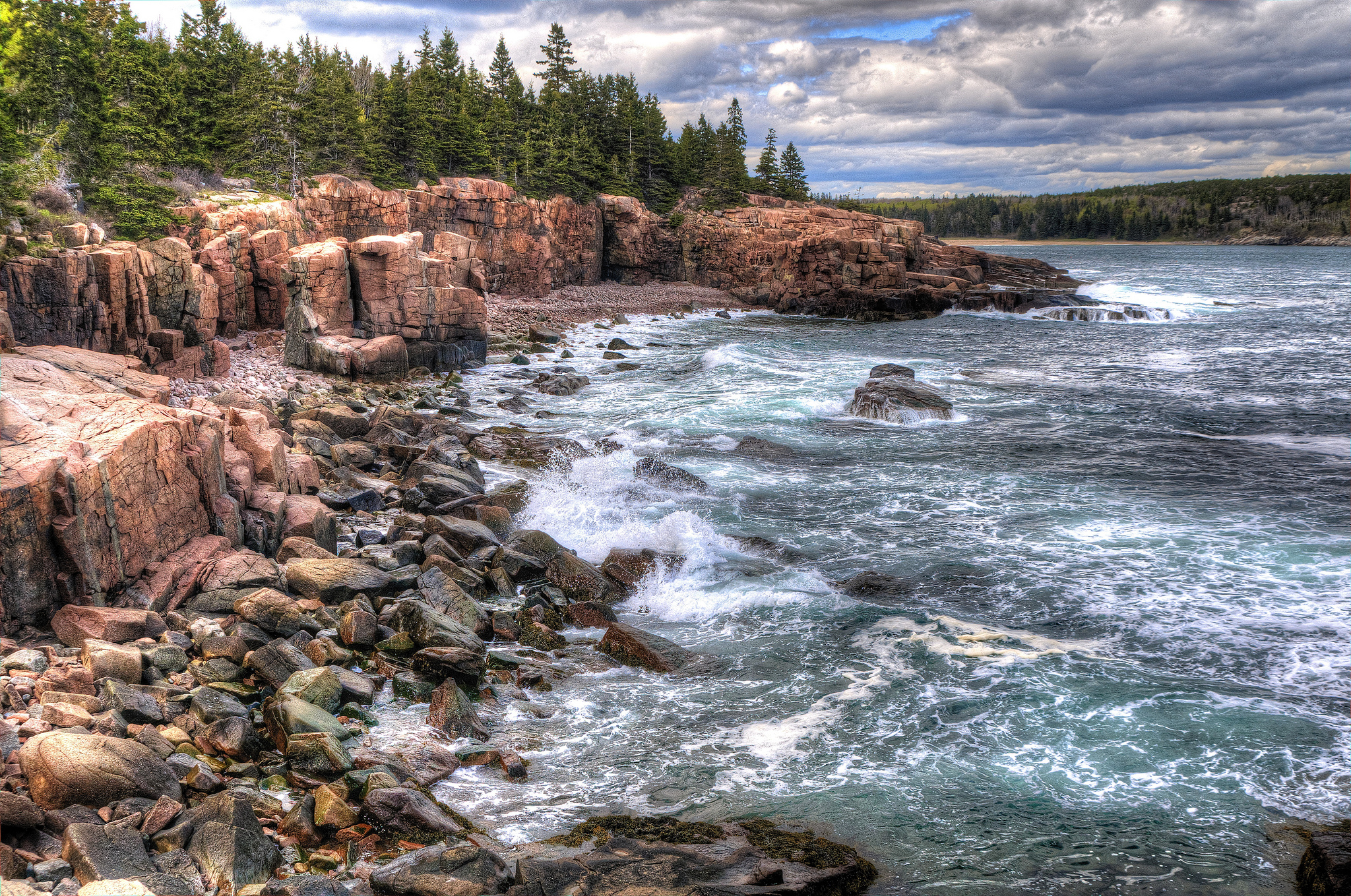 Acadia national park national park in united states for Public fishing near me