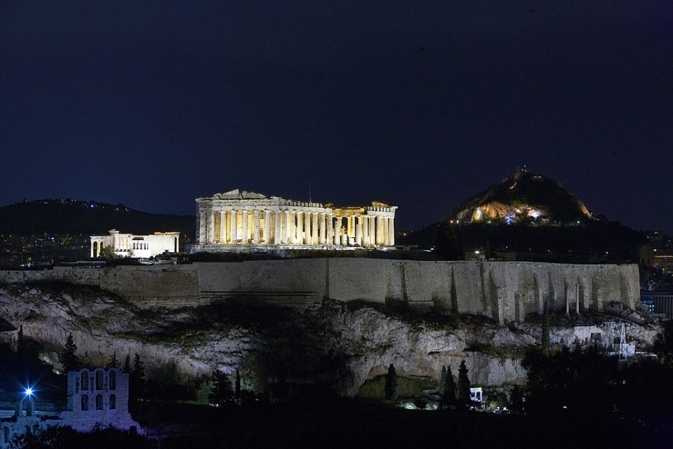Acropolis night view - Acropolis