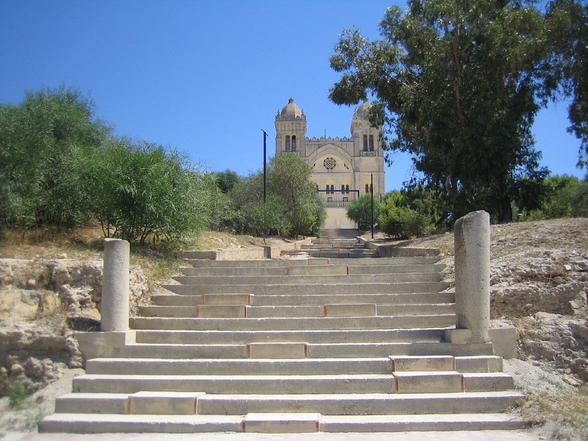 Cathedrale St Louis, Carthage - Acropolium of Carthage