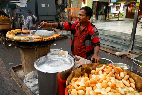 Street food - Agra old city -