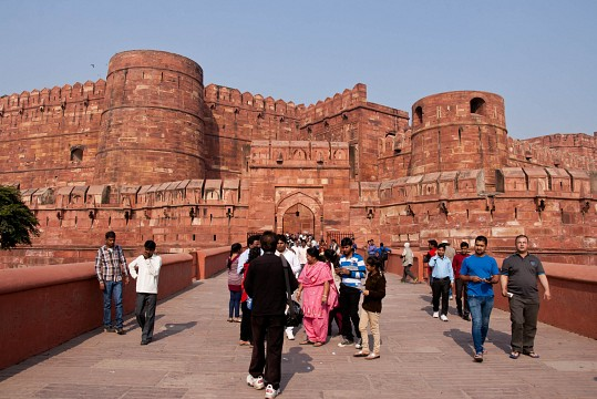 - Agra Fort