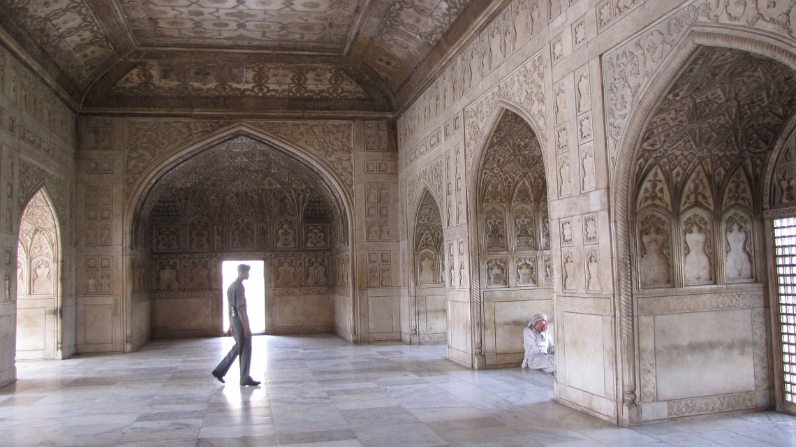 Interior - Agra Fort