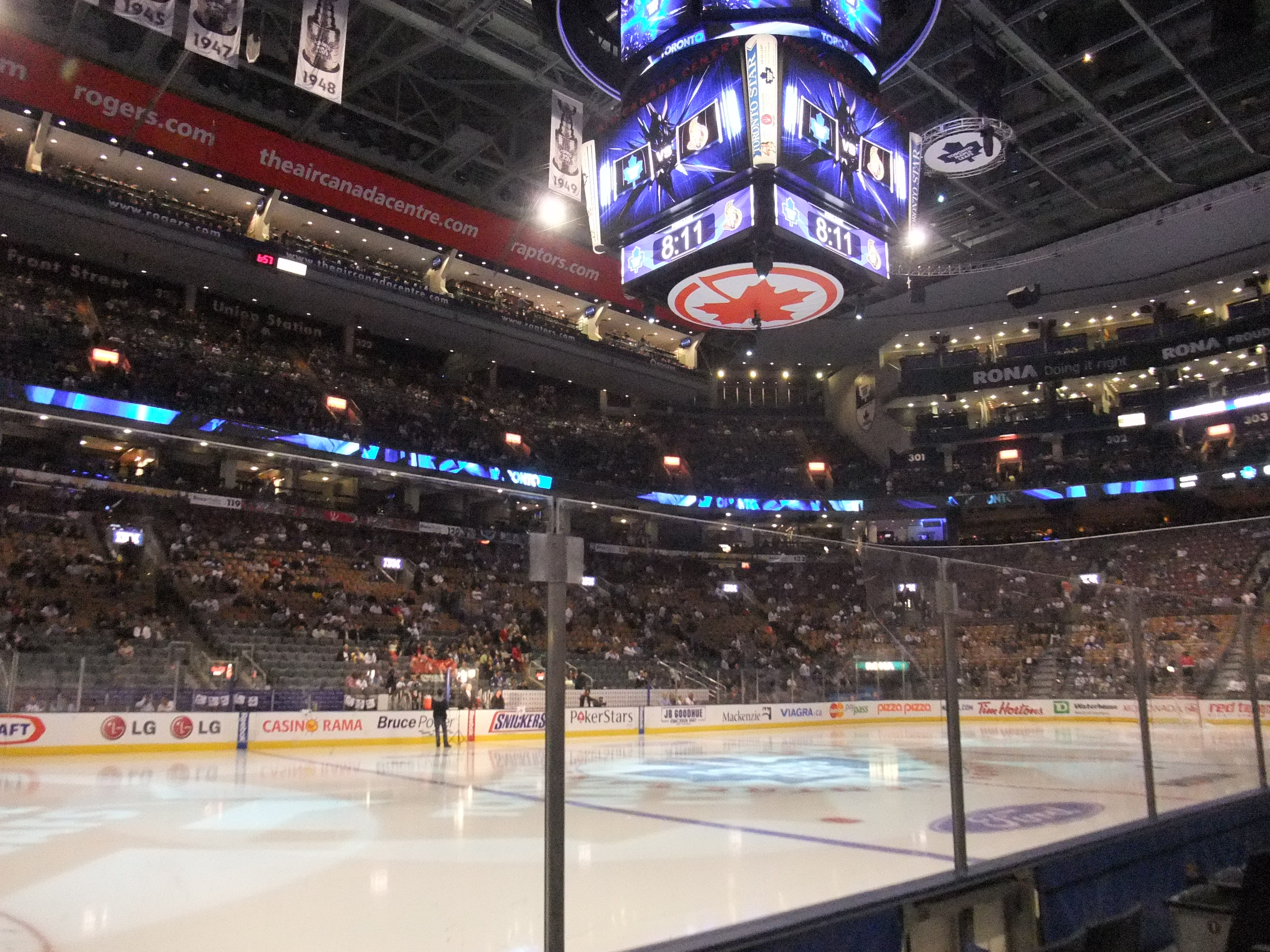 Air Canada Centre Arena In Toronto Thousand Wonders