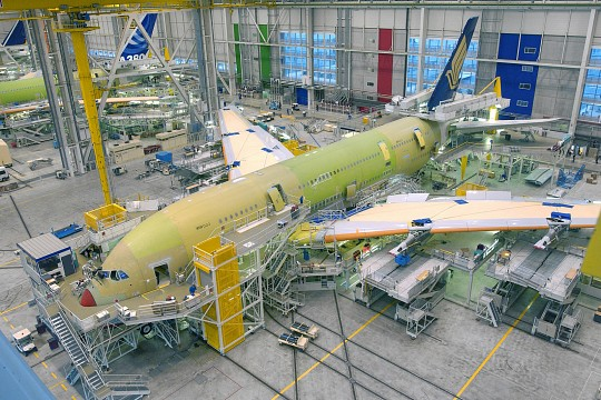 Airbus Assembly Plant