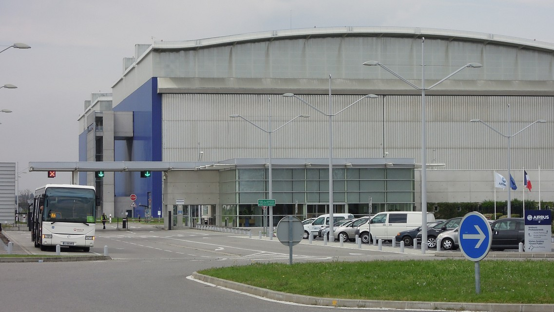 The Jean-Luc Lagardère plant, Blagnac - Airbus Assembly Plant