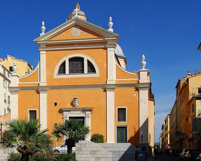 Cycle tour of Corsica: Genoese Cathedral in Ajaccio - Ajaccio Cathedral