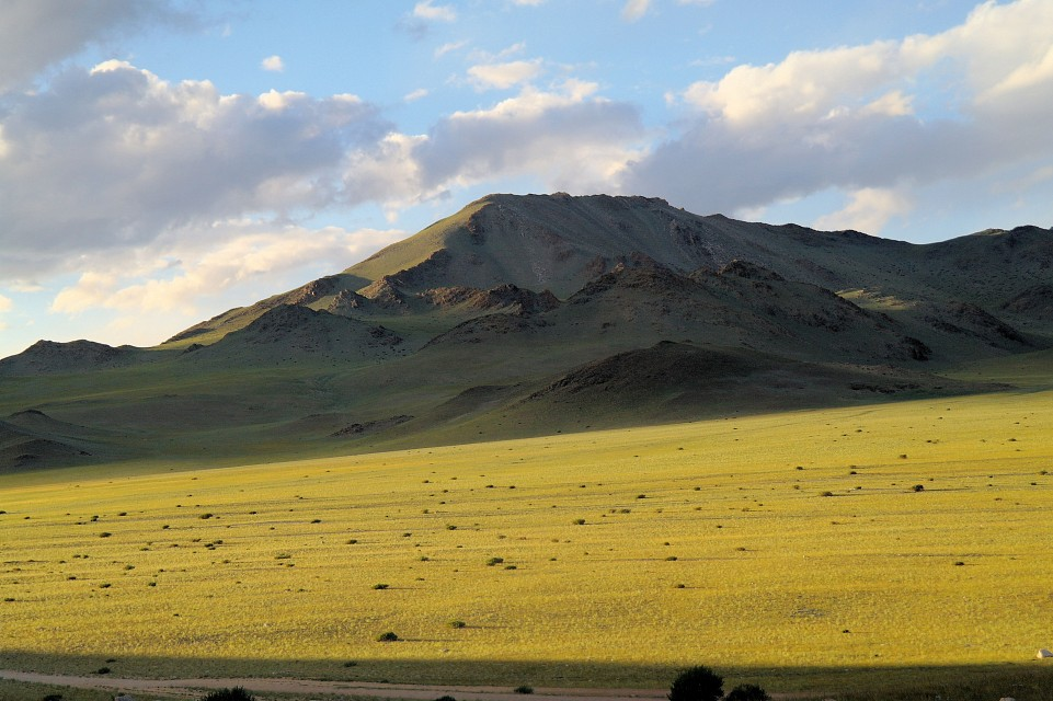 Mongolia, located between the Altai mountains and Olgi - Altai Mountains