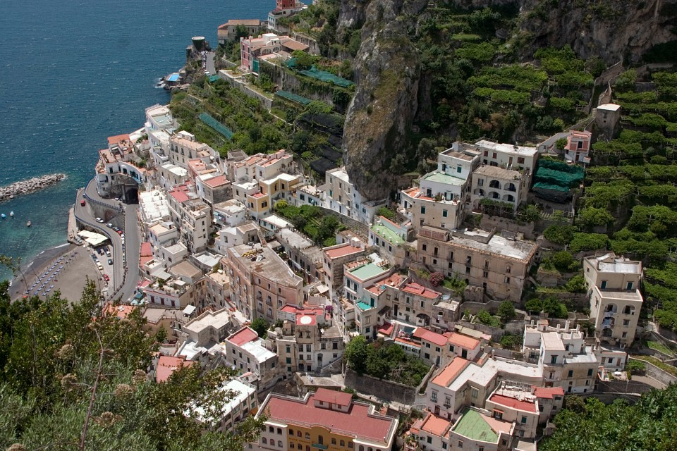 View from Ravello, Amalfi Coast - Amalfi Coast