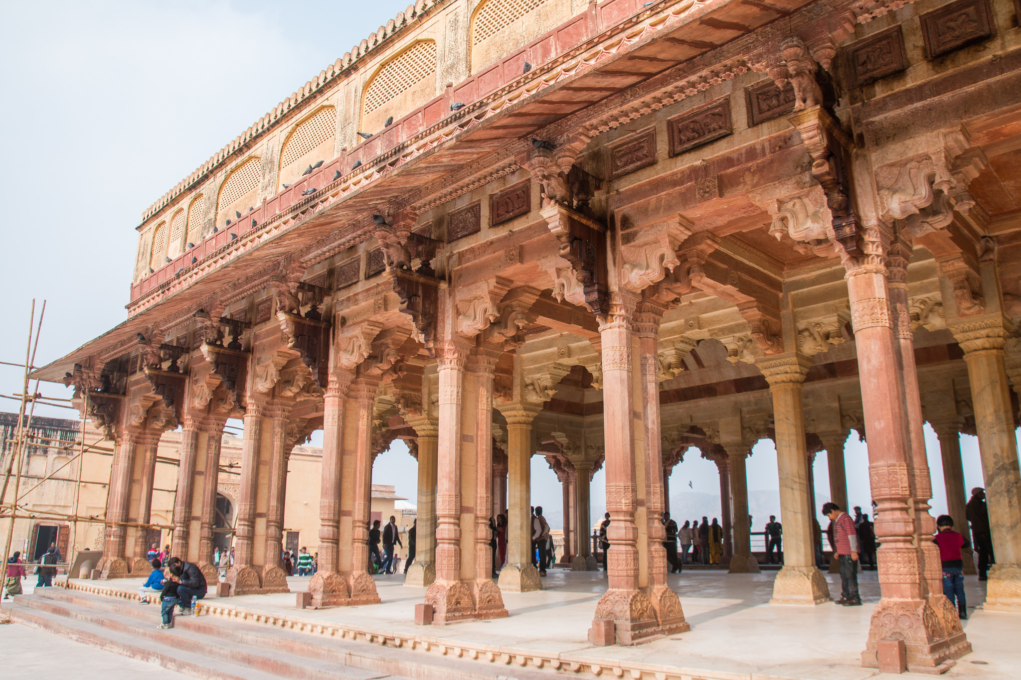 Amer fort fortress in jaipur thousand wonders Home architecture in jaipur