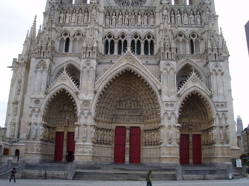 Amiens Cathedral West Front - Amiens Cathedral