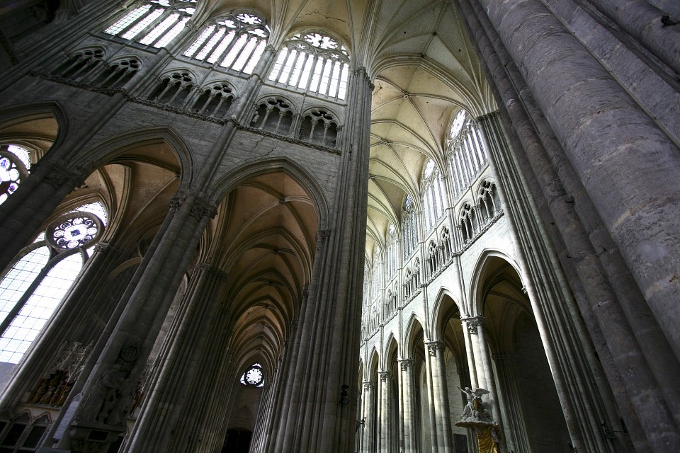 Inside the Amiens Cathedral - Amiens Cathedral