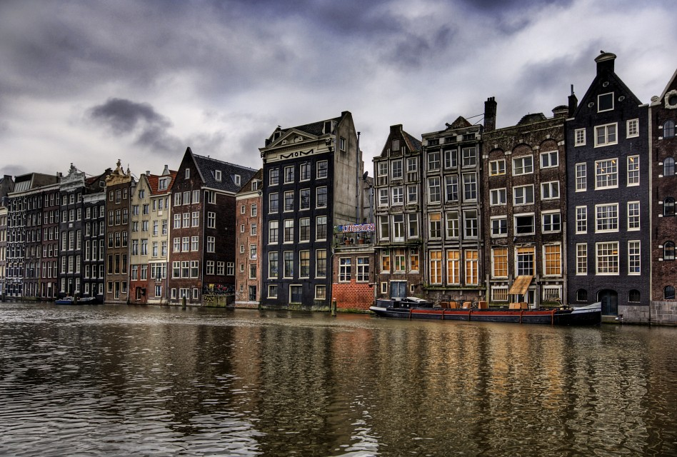 Amsterdam Homes and a Little Pot Shop - Amsterdam