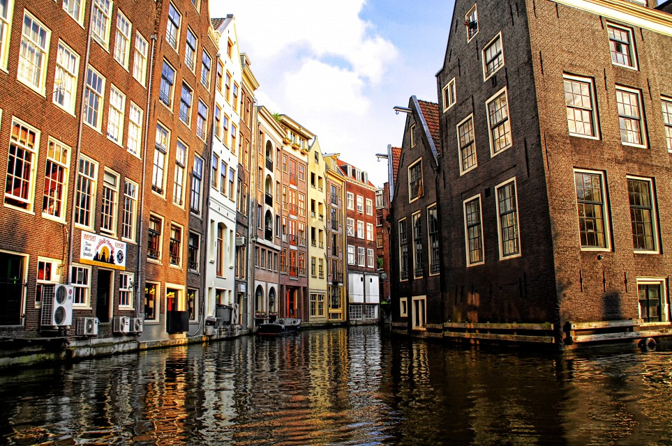 Canals in Amsterdam -