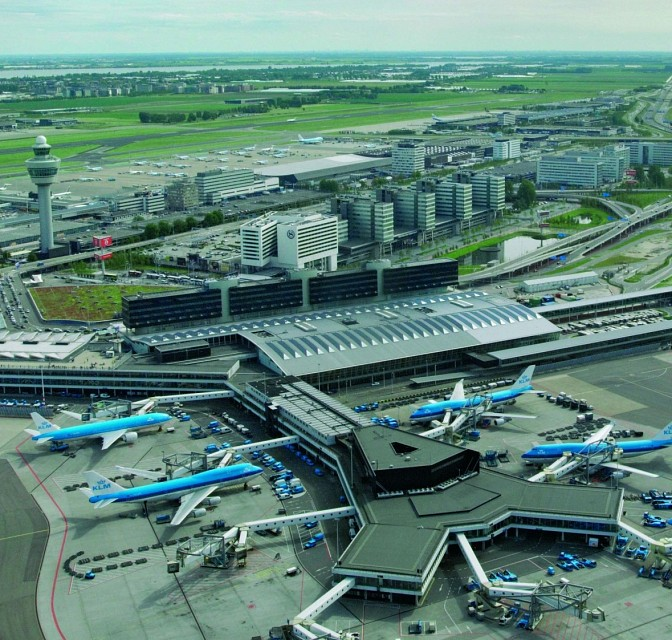 Aerial - Amsterdam Airport Schiphol