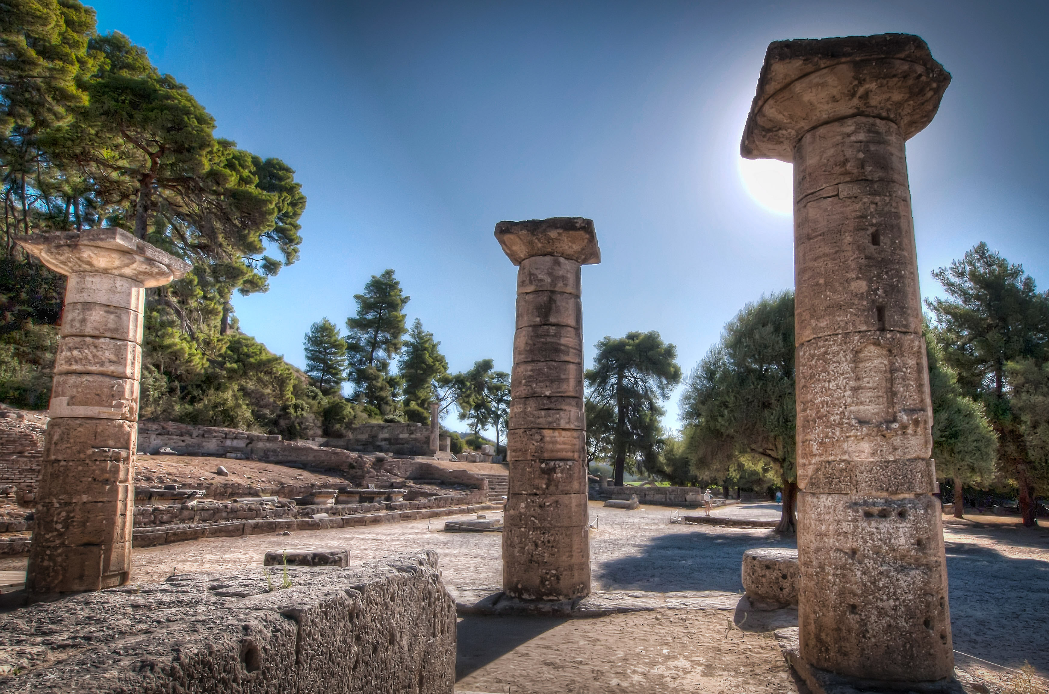 Ancient Olympia Ruin In Greece Thousand Wonders