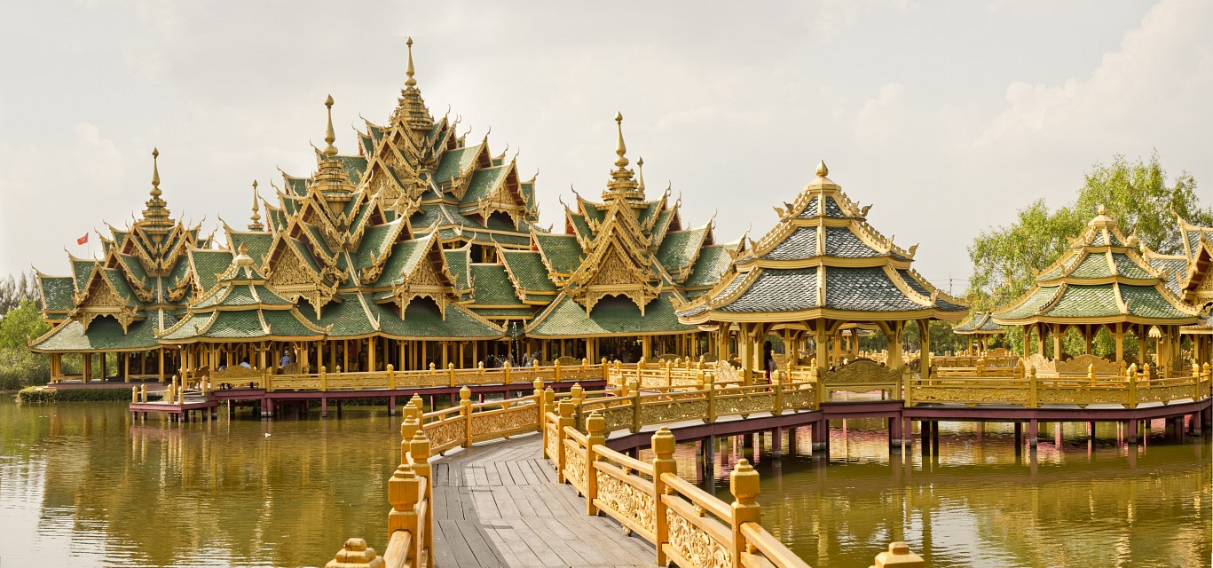 Pavilion of the Enlightened - Ancient Siam -