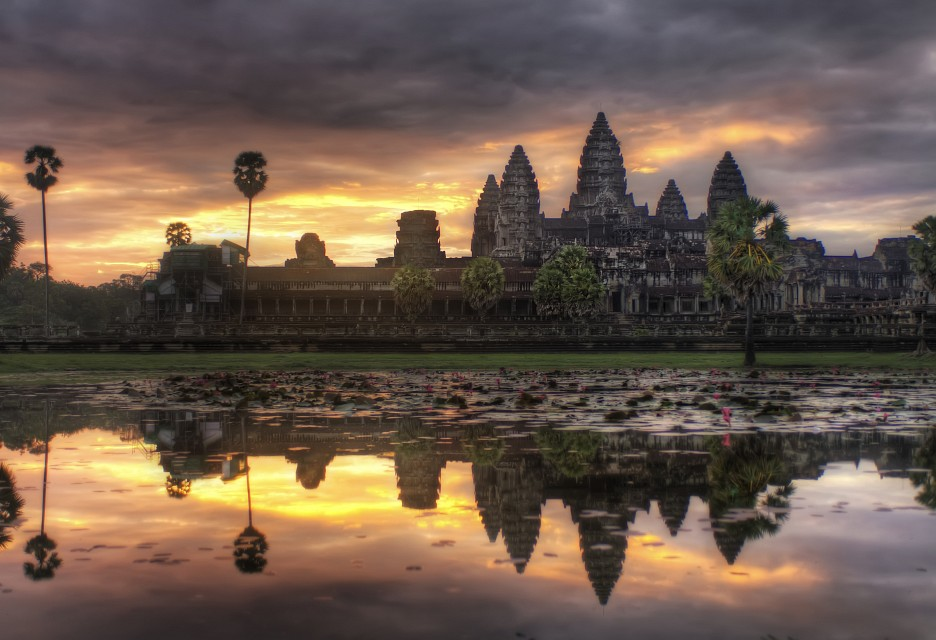 The Lotus Sunrise - Angkor Wat