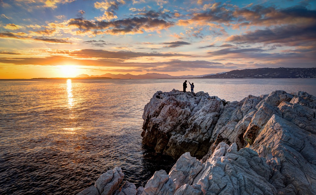 Sunset at Cap d'Antibes - Antibes