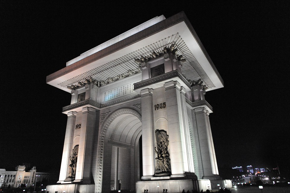 Arch of Triumph, Pyongyang - Arch of Triumph