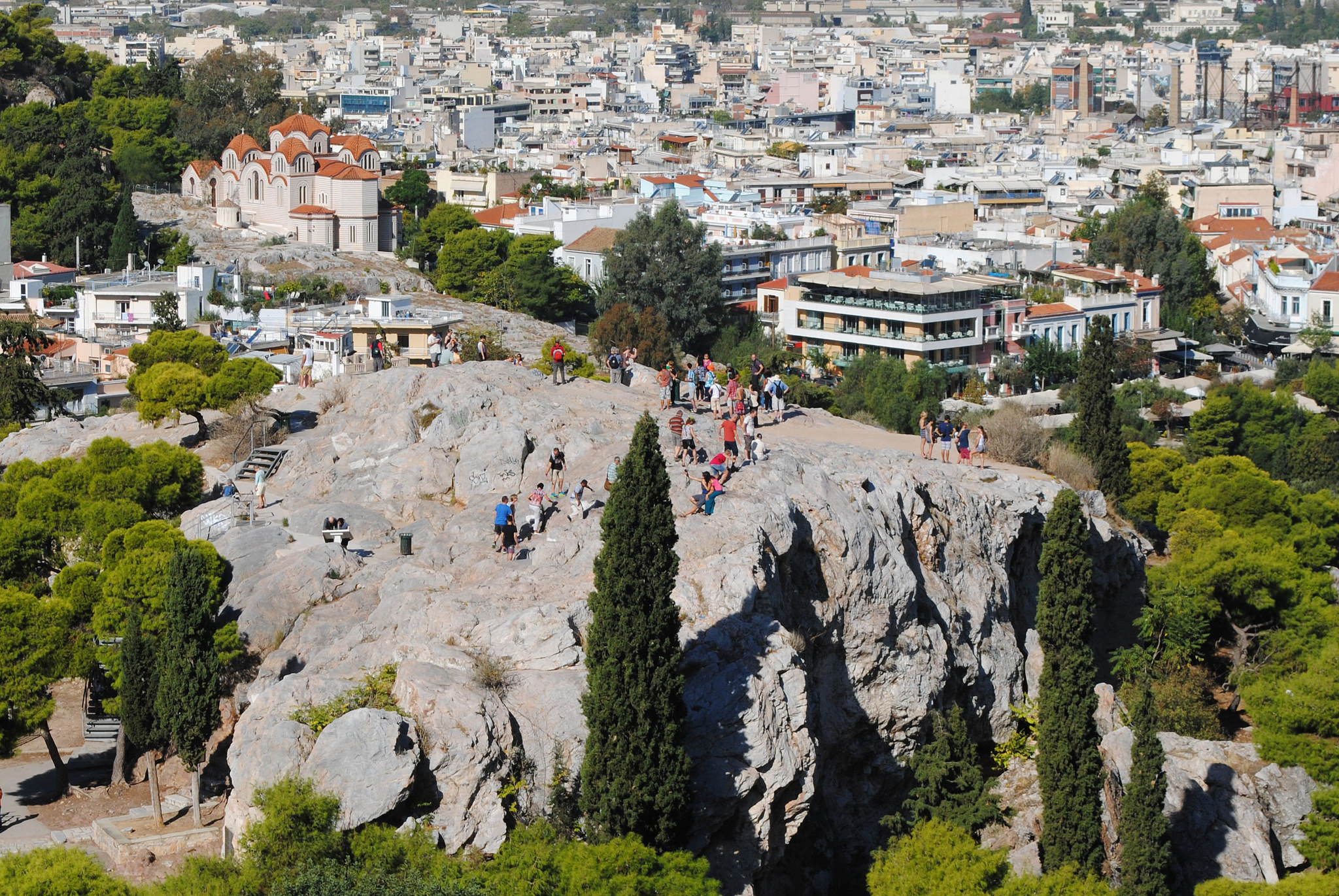 Areopagus - Rock Formation in Acropolis - Thousand Wonders
