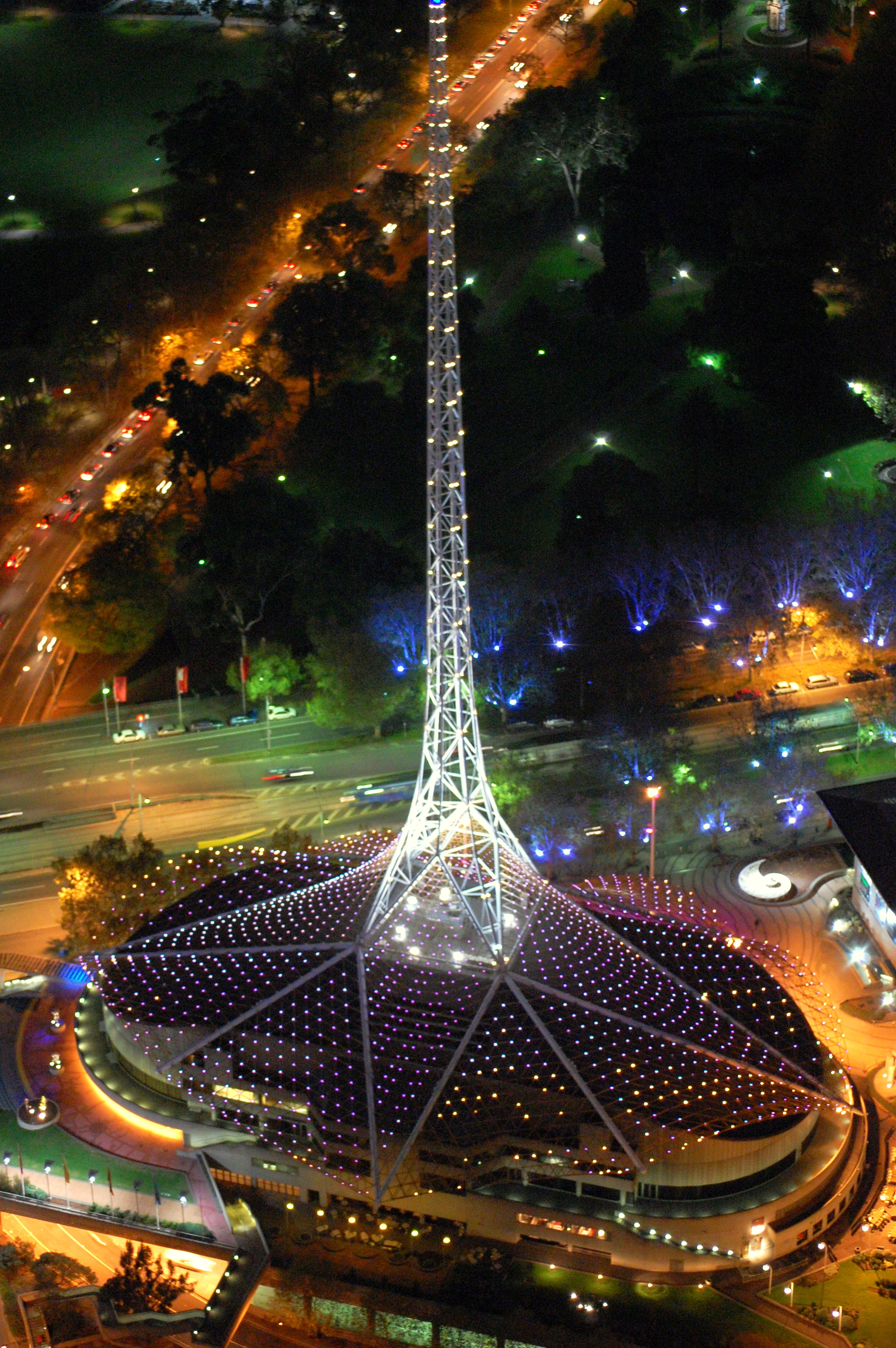Who Designed The Eiffel Tower Arts Centre Melbourne Tower In Melbourne Thousand Wonders