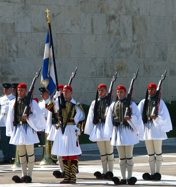 Changing of the guards,