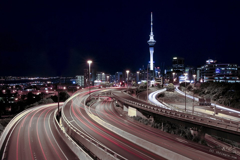 Spaghetti Junction - Auckland