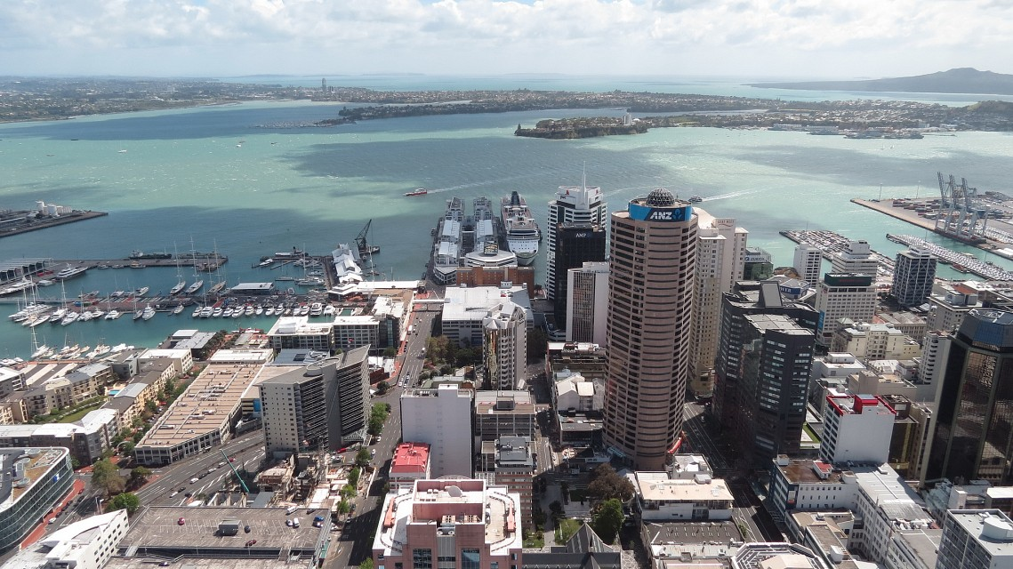View from the Sky Tower,