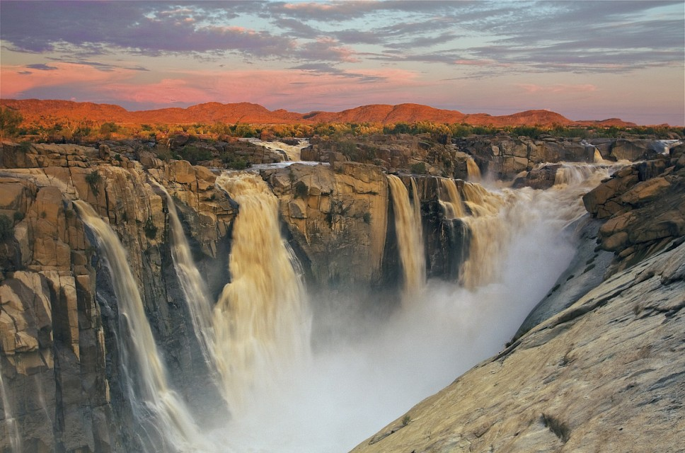 Augrabies Falls. Waterfall in Augrabies Falls National Park, South Africa