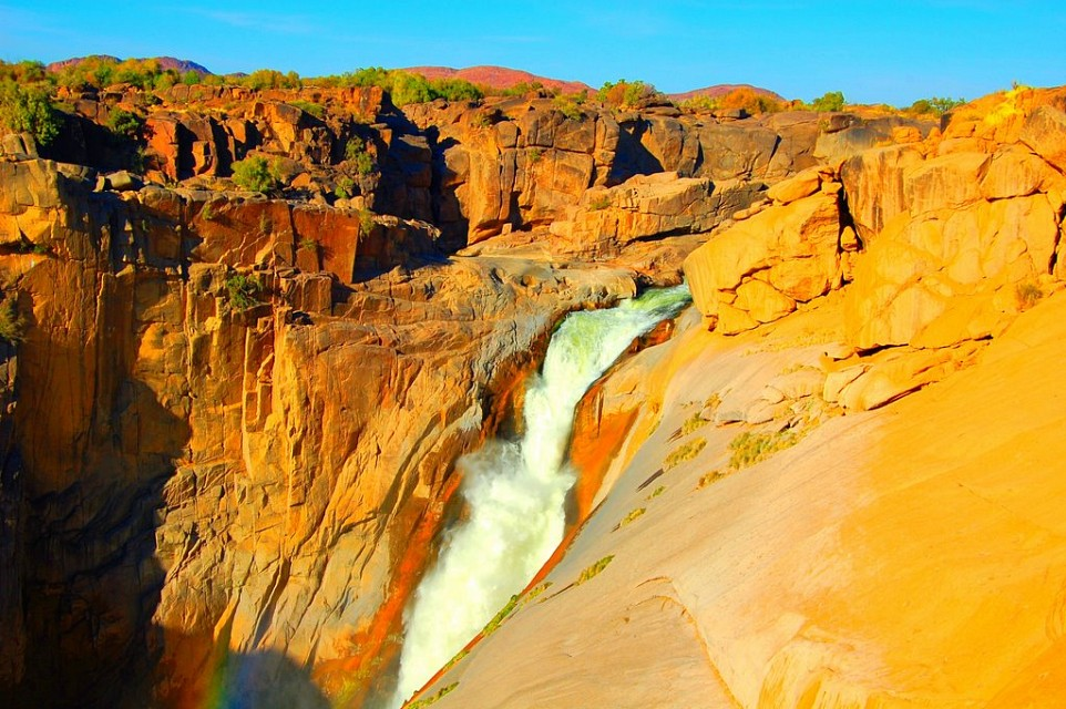 Augrabies Falls National Park. National Park in South Africa, Africa