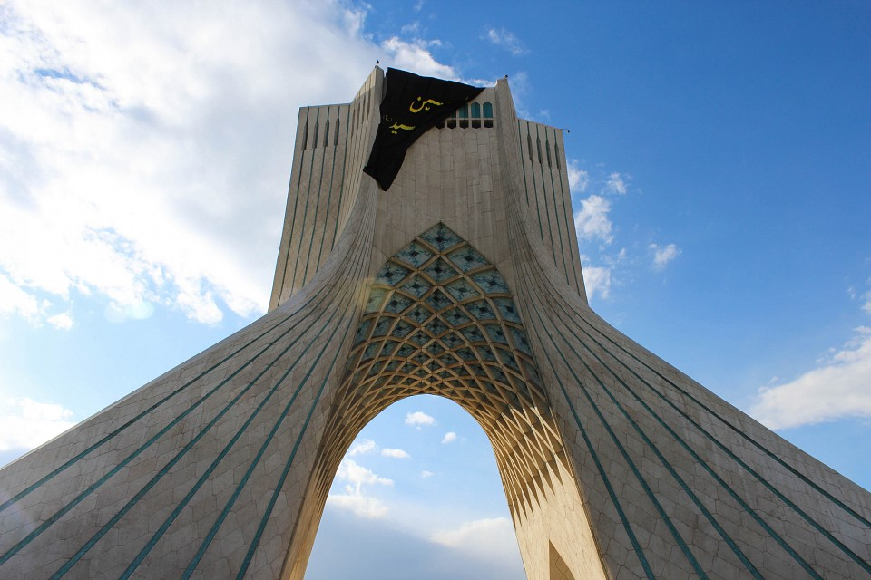 Borj e Azadi (Azadi Tower) in Tehran - Azadi Tower