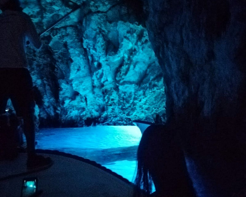 BLUE CAVE CROATIA. Natural Reserve