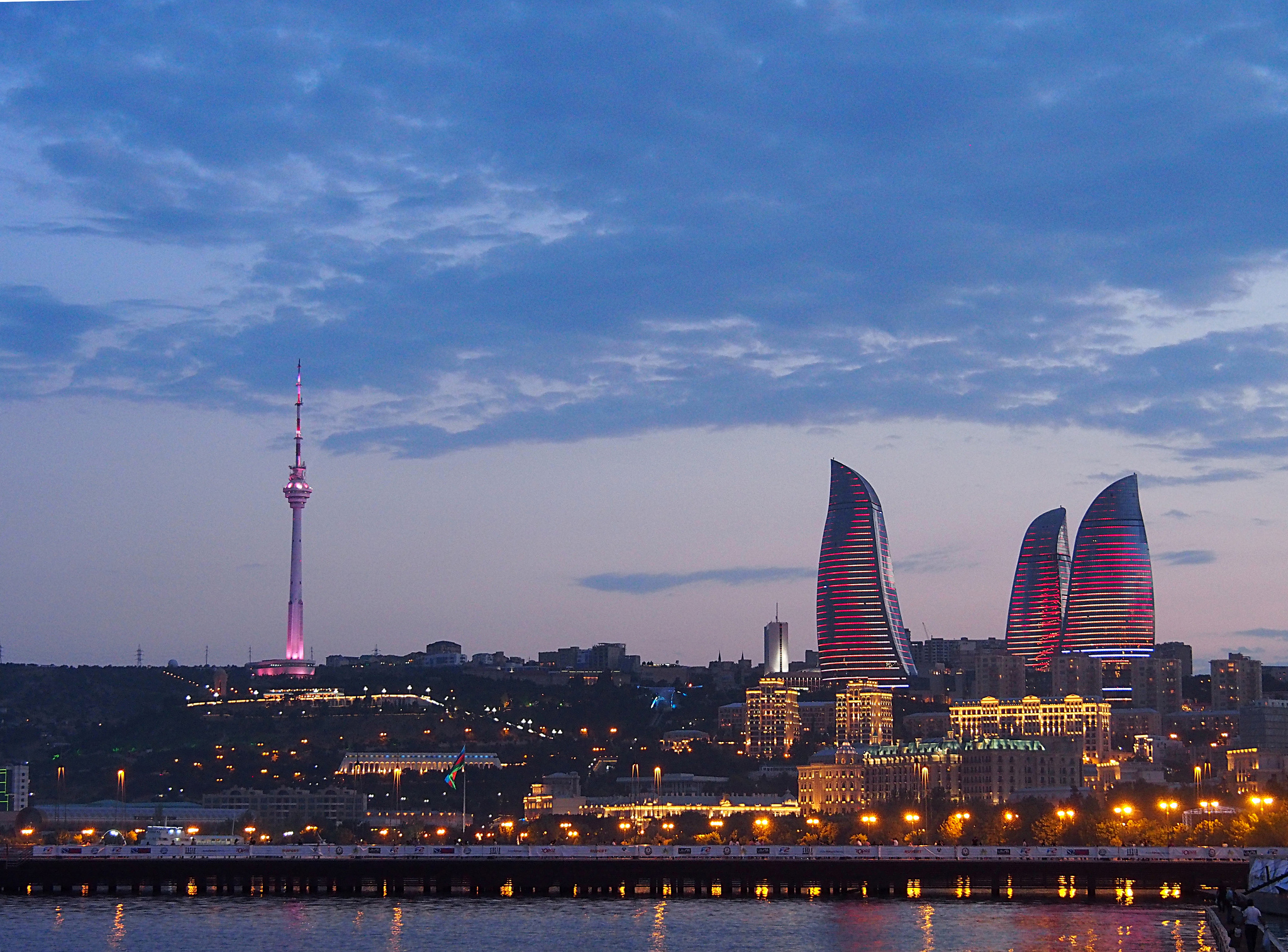 Baku City In Azerbaijan Thousand Wonders