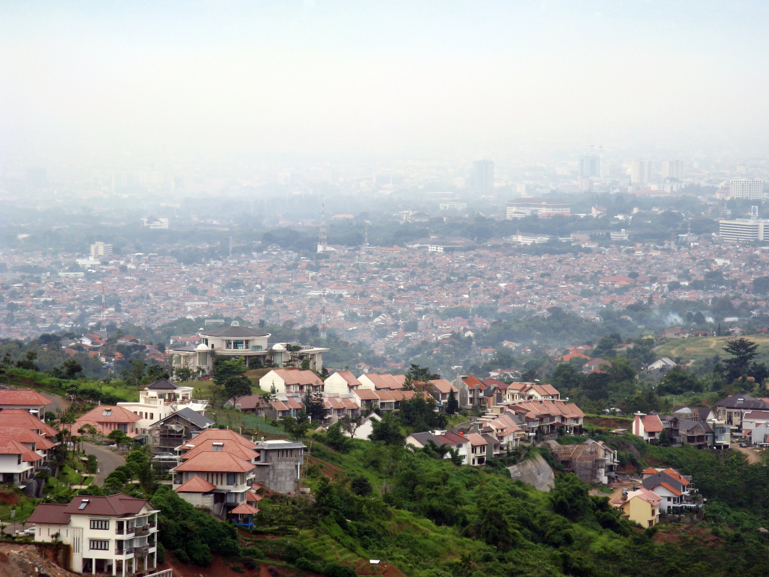 Indonesia City Bandung City in Indonesia
