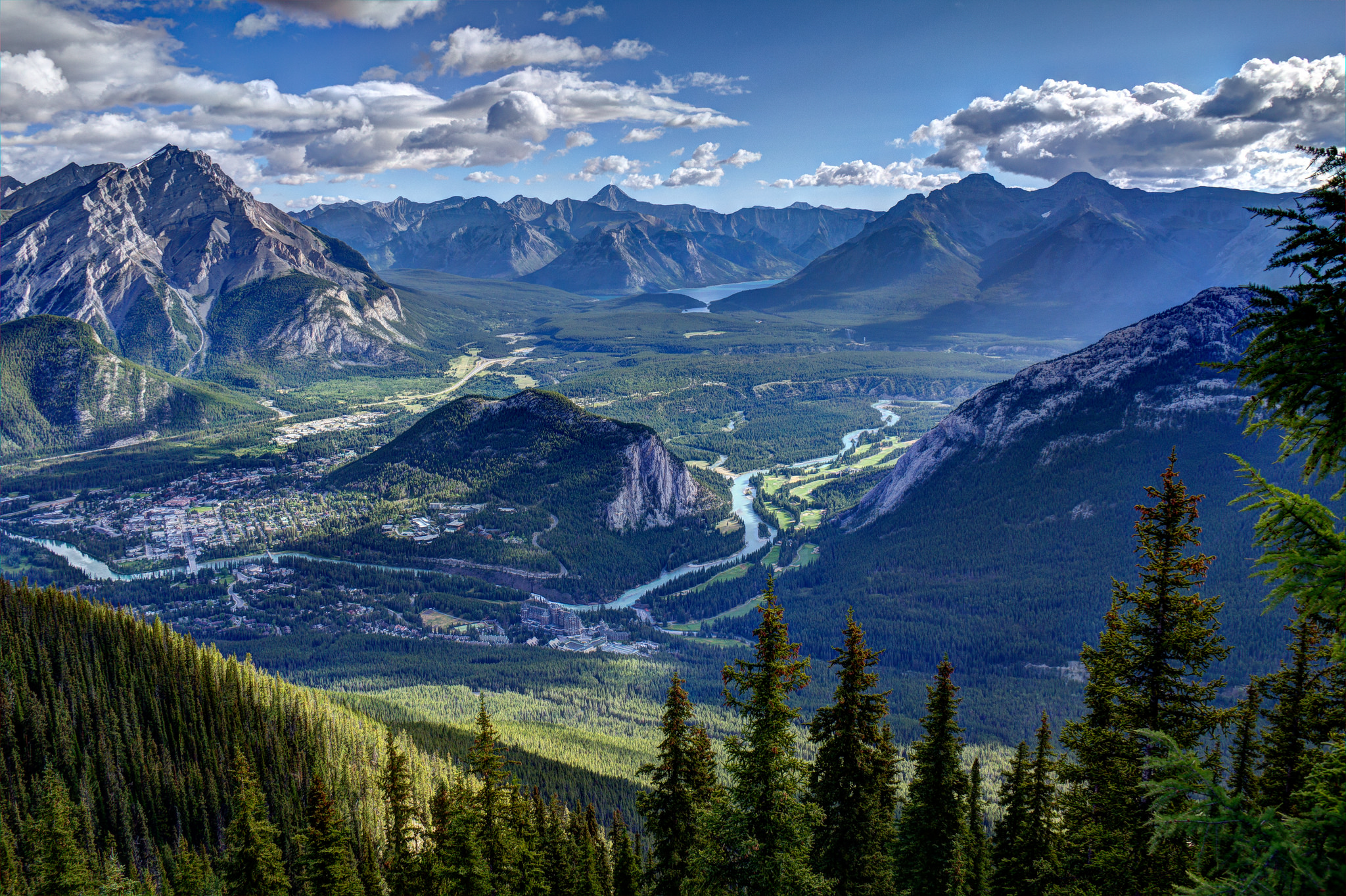 Banff National Park National Park In Alberta Thousand