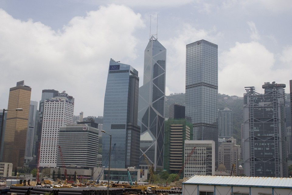Hong Kong Skyline - Bank of China Tower