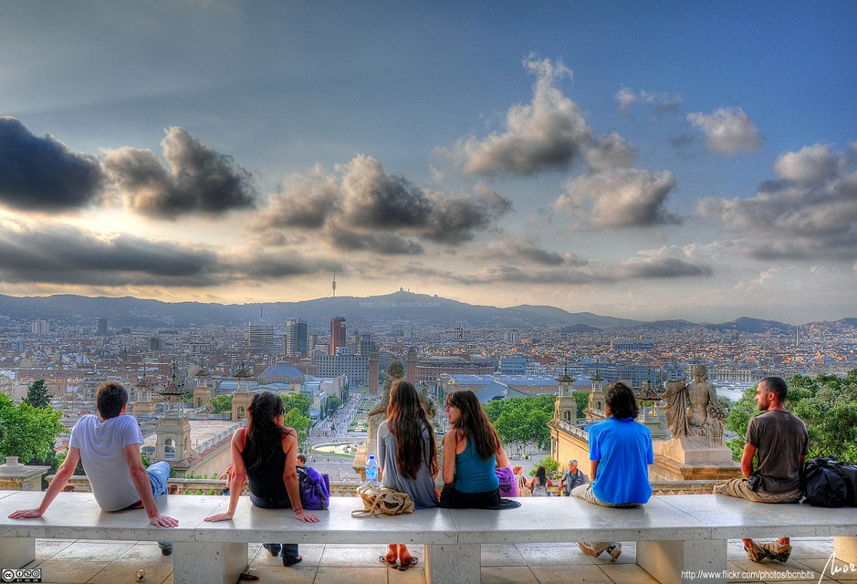 enjoy the view - Barcelona - HDR - Barcelona