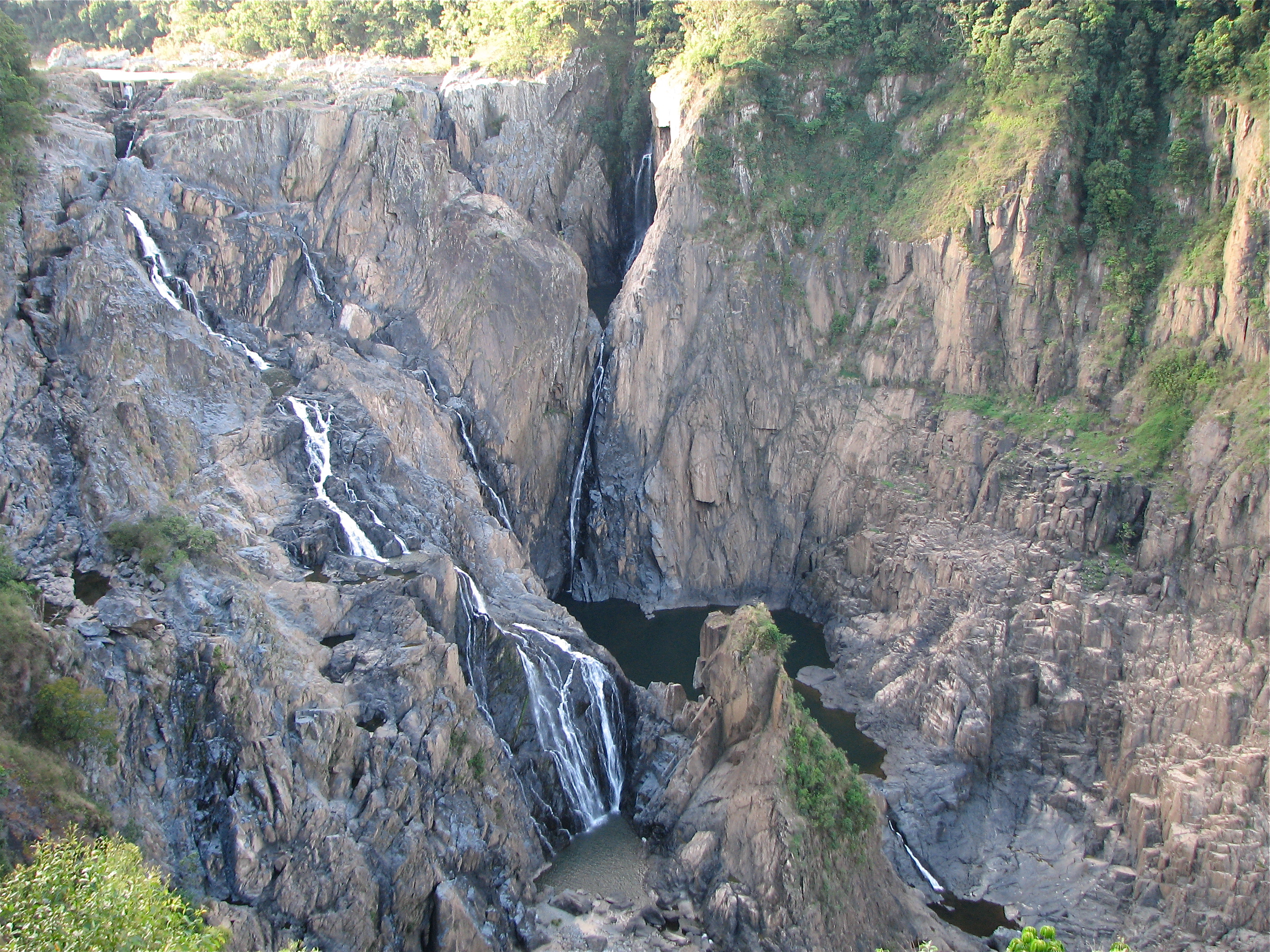 Barron Falls Wide Shot - Barron Gorge National Park