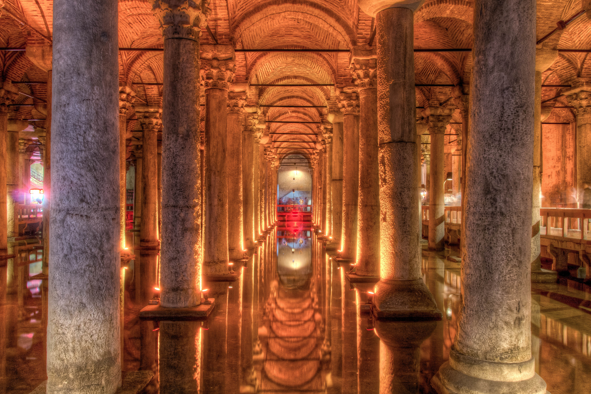 basilica cistern in istanbul thousand wonders