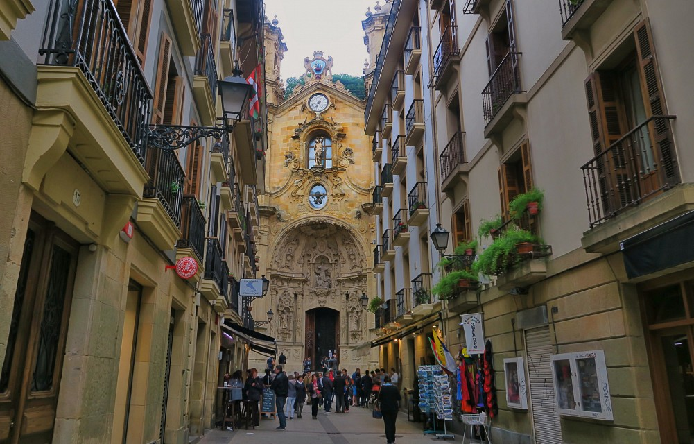 Basilica of Saint Mary of the Chorus - San Sebastian, Spain - Basilica of Saint Mary of the Chorus