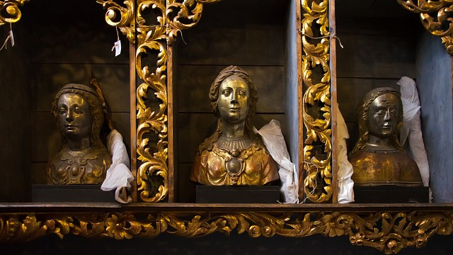 Golden Chamber at the Basilica of St. Ursula - Basilica of St. Ursula