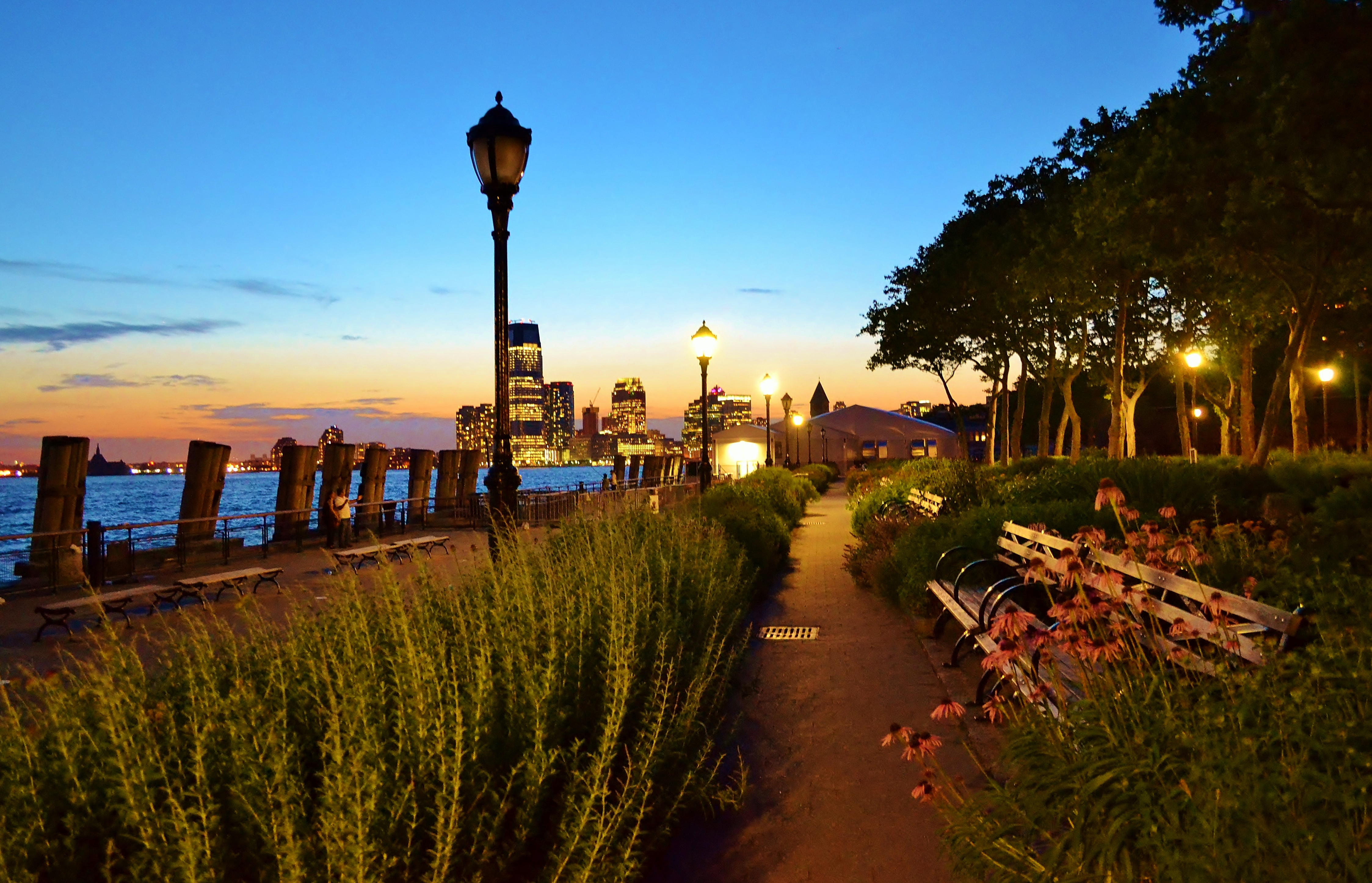 Battery Park - Urban Park in New York City - Thousand Wonders