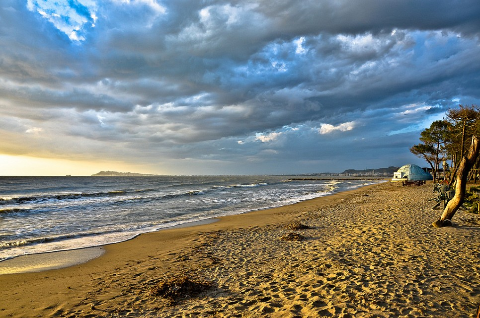The bay of Durrës - Beach of Durrës